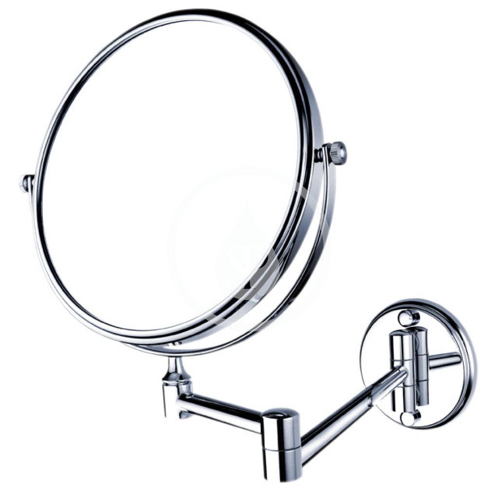 Nimco Kozmetické zrkadlá - Kozmetické zrkadlo nástenné, chróm