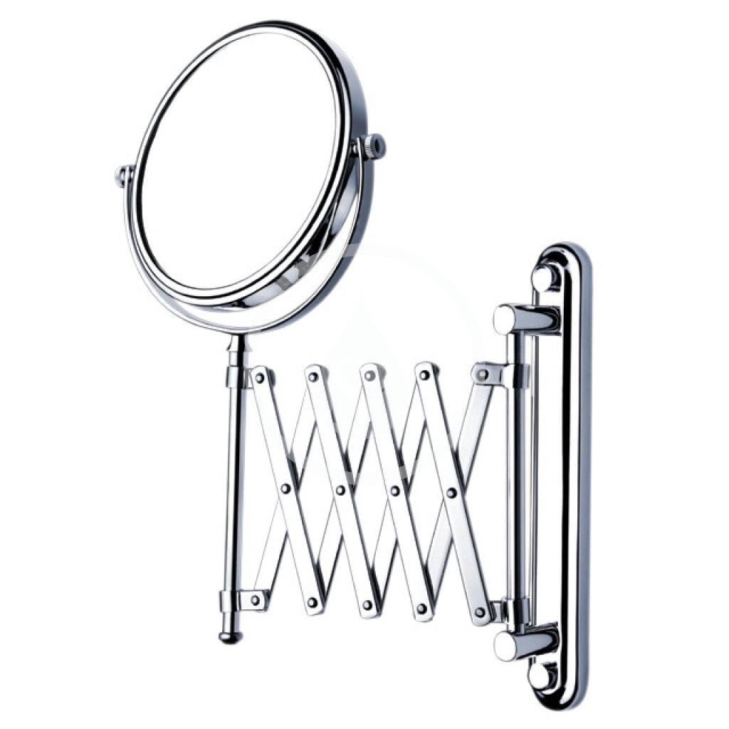Nimco Kozmetické zrkadlá - Kozmetické zrkadlo nástenné, mosadz