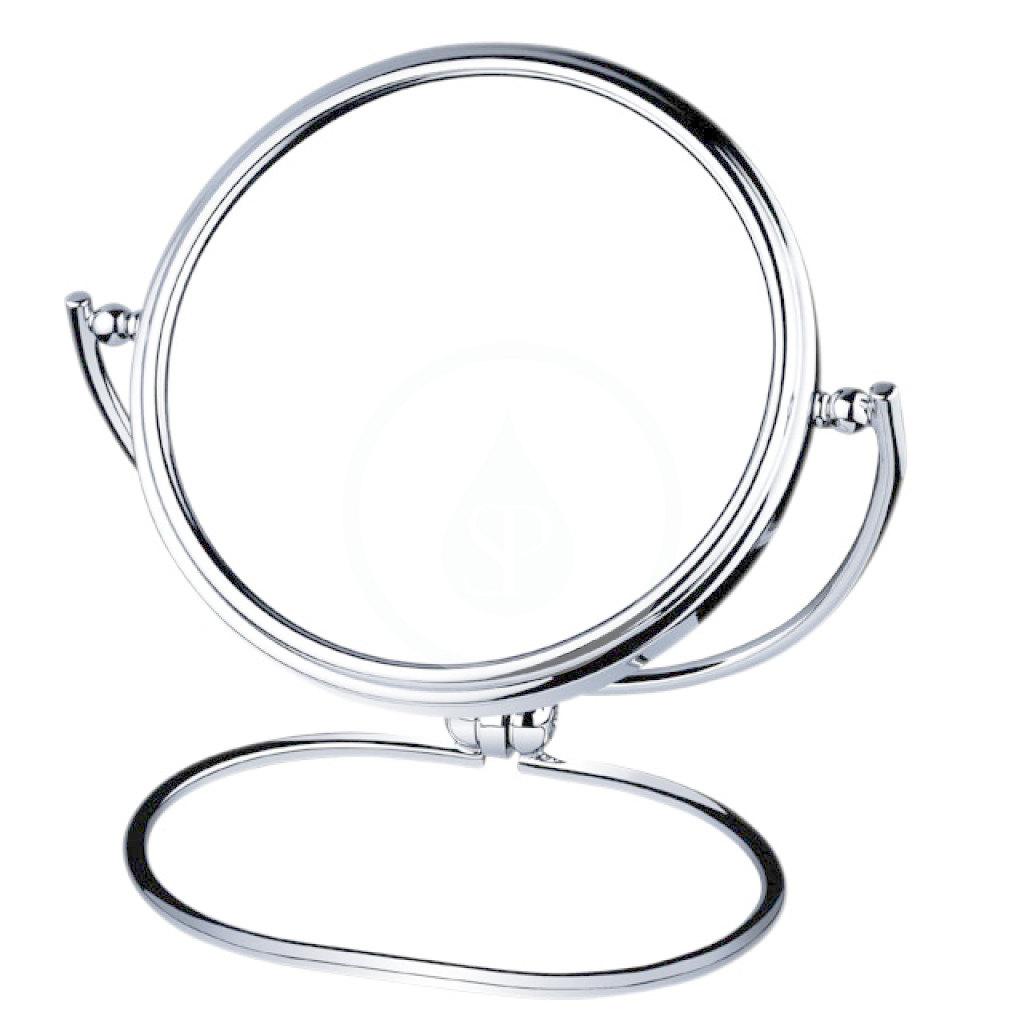 Nimco Kozmetické zrkadlá - Kozmetické zrkadlo stojančekové, mosadz