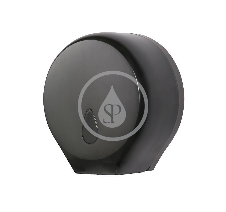Sanela Hygiena toalety  - Zásobník na toaletný papier, čierna