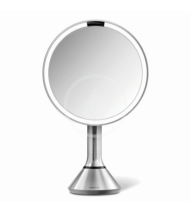 Simplehuman Kozmetické zrkadlá - Kozmetické zrkadlo s LED osvetlením, matná nerezová