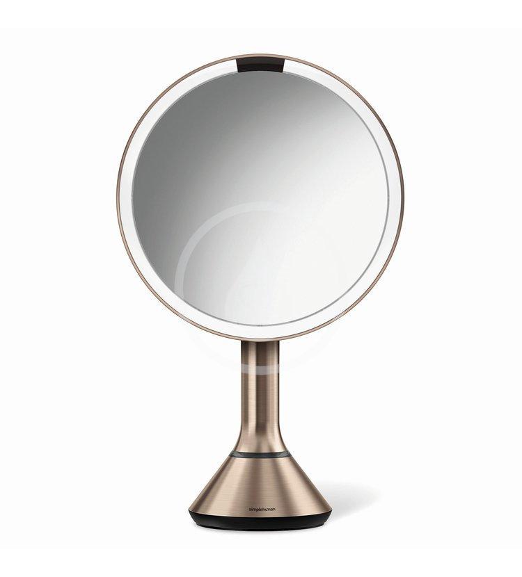Simplehuman Kozmetické zrkadlá - Kozmetické zrkadlo s LED osvetlením, rose gold